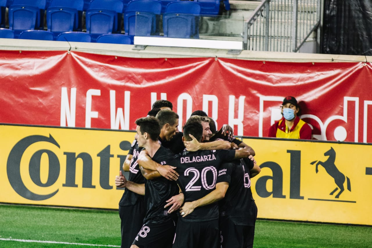 New York Red Bulls 1-2 Inter Miami CF on Oct. 7, 2020 at Red Bull Arena 1