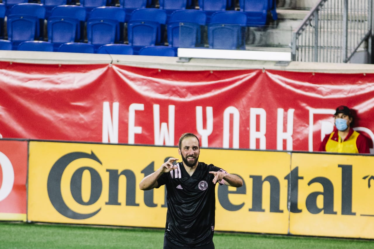 New York Red Bulls 1-2 Inter Miami CF on Oct. 7, 2020 at Red Bull Arena 4