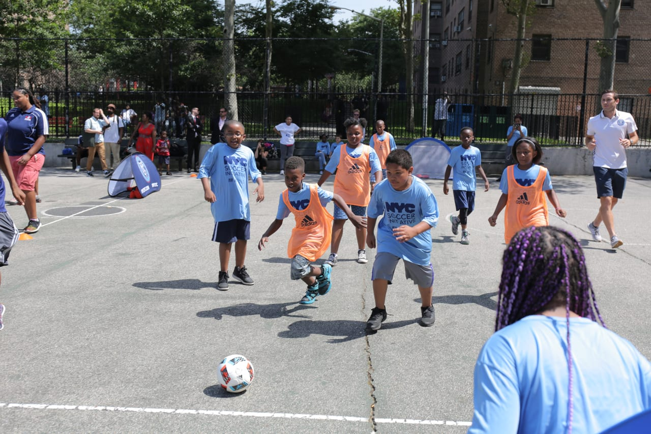 2016 Launch of NYC Soccer Initiative - https://newyorkcity-mp7static.mlsdigital.net/elfinderimages/Pictures/NYCSI/2016-NYCSI-5.JPG