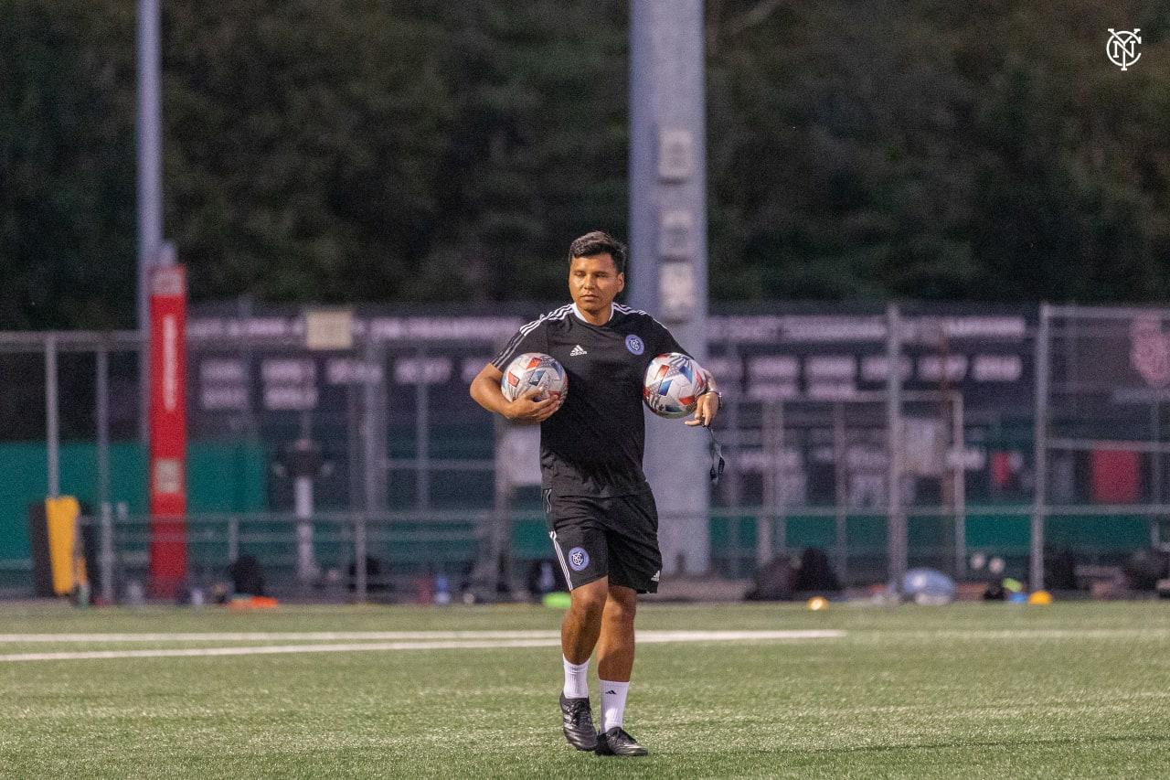 NYCFC Academy Training, August 2021