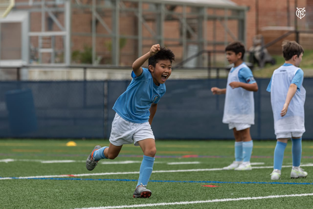 NYCFC Summer Camps in Partnership with Manchester City