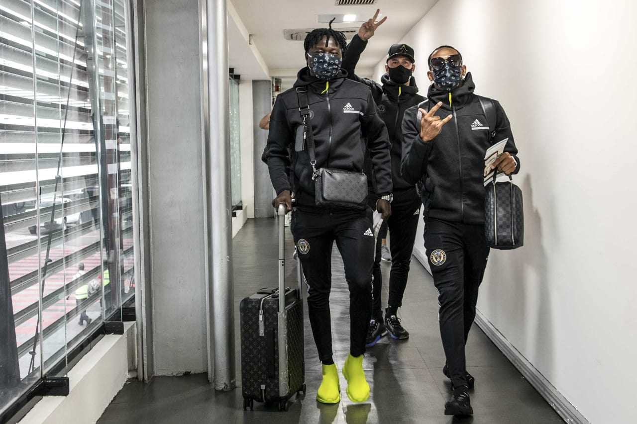 Club arrives in Mexico