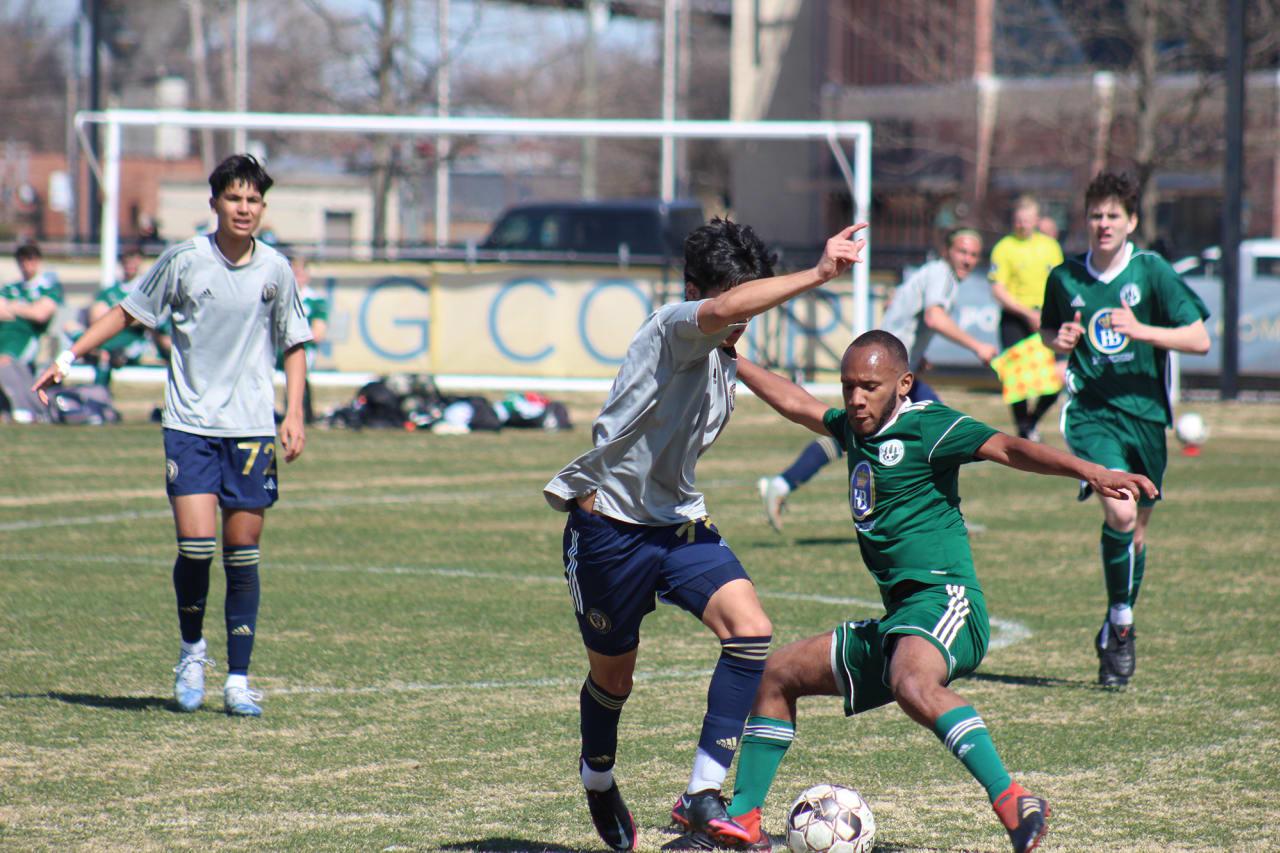 Ramirez clashes with defender