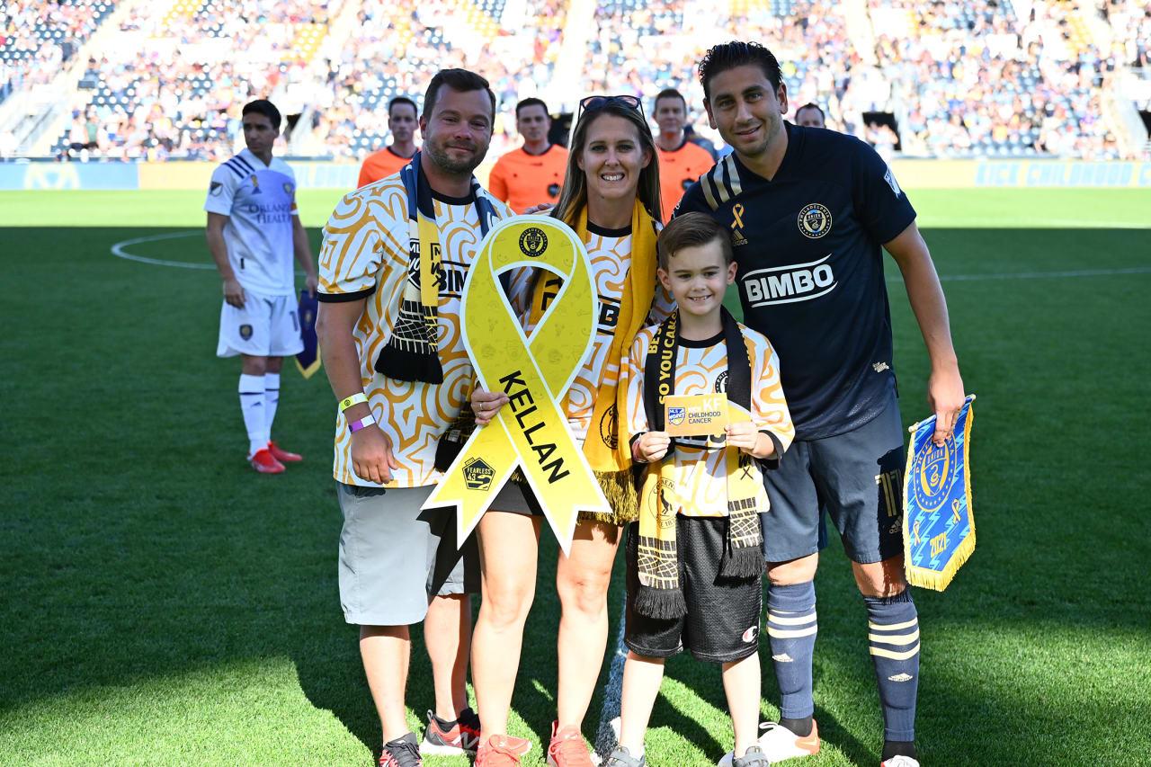 PHIvORL- Captain Alejandro Bedoya and Kellan's family