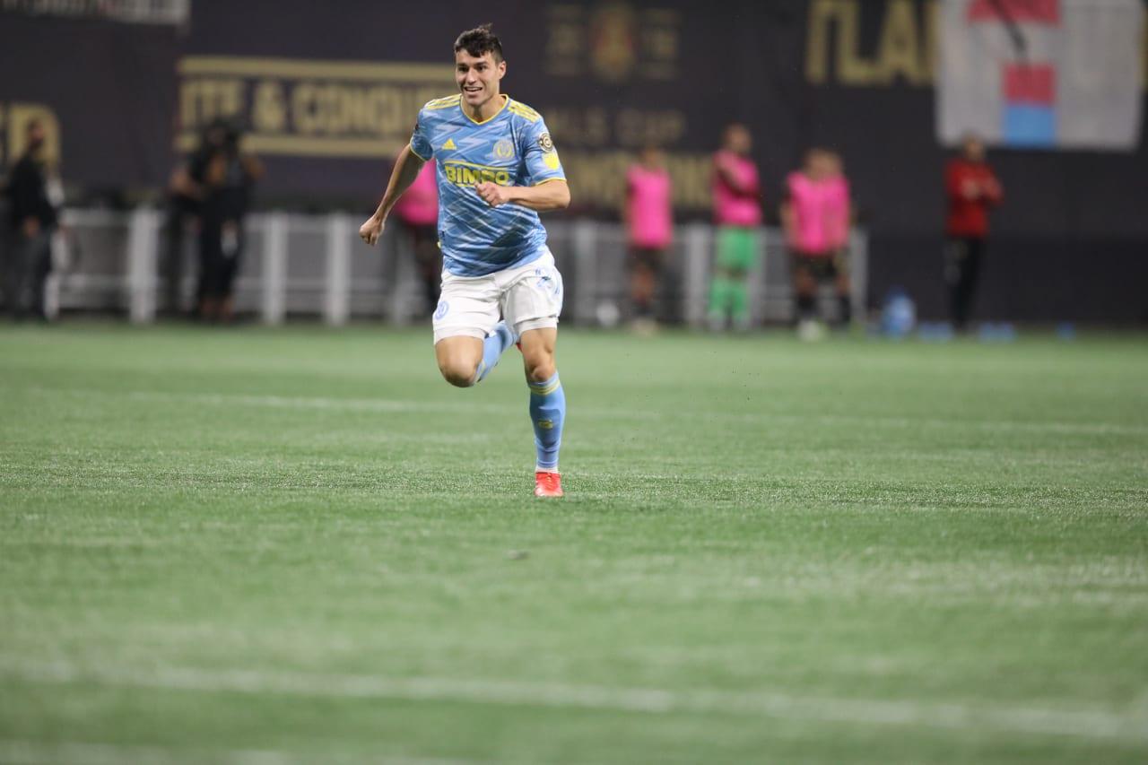 #ATLvPHI- Anthony Fontana before third goal