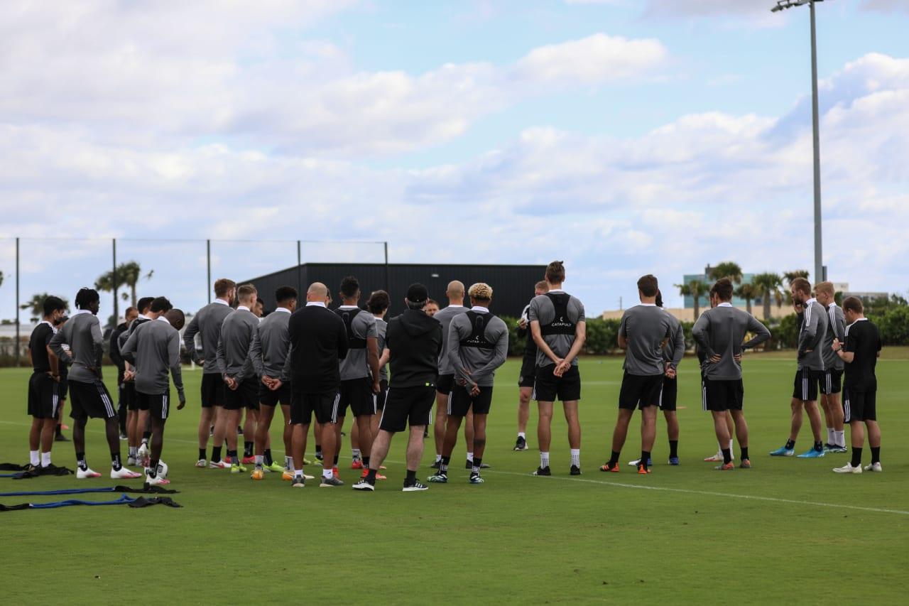 Team before training in FL