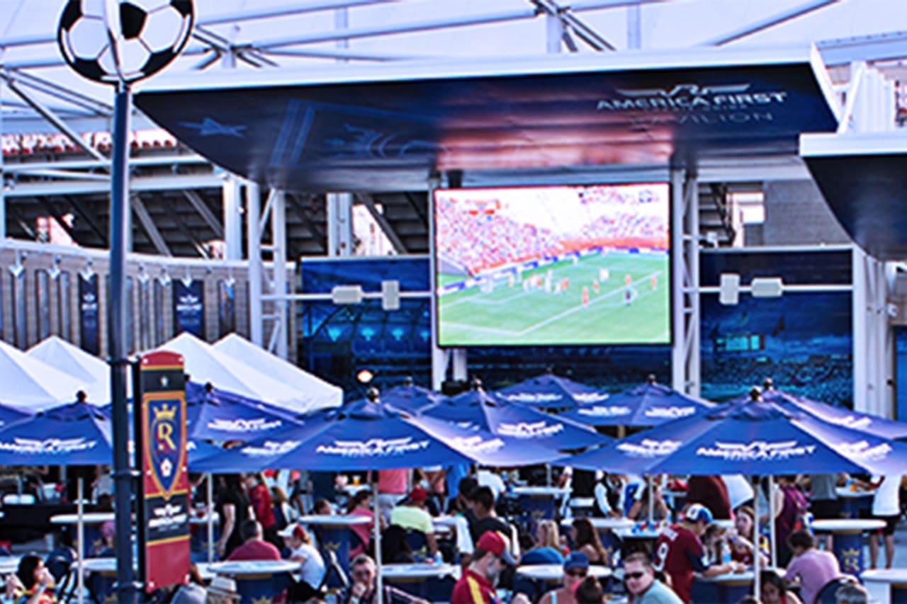 AFCU Pavilion Screen