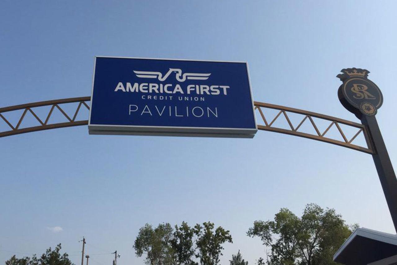 AFCU Pavilion Entrance
