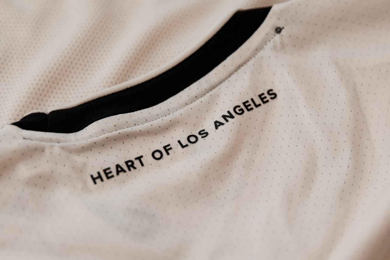 2021 Los Angeles Football Club secondary jersey