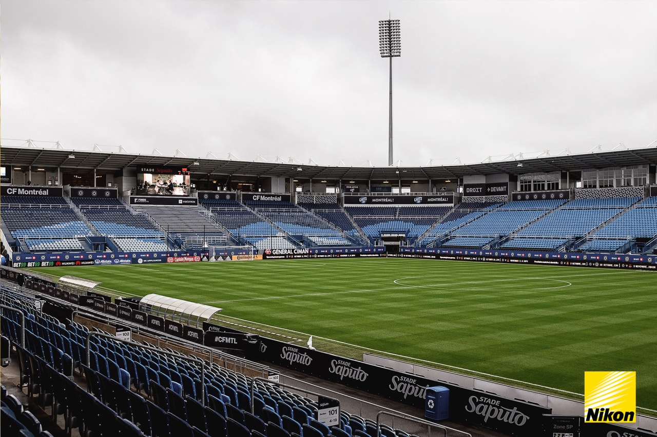 Scene Setter before the match against CF Montréal at Stade Saputo in Montreal, Quebec, on Saturday October 2, 2021. (Photo by Rafy Araica /Atlanta United)