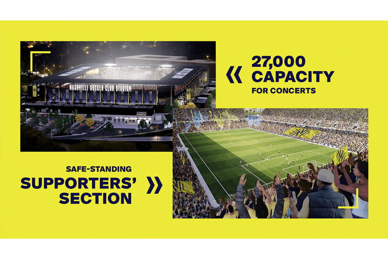 Safe-Standing Supporters' Section