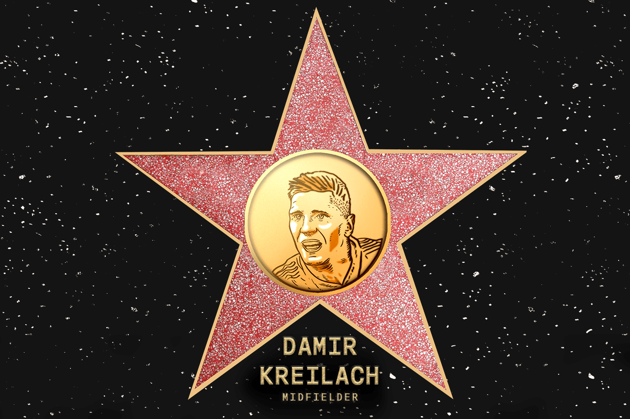 Damir Kreilach (RSL) - Coach's pick