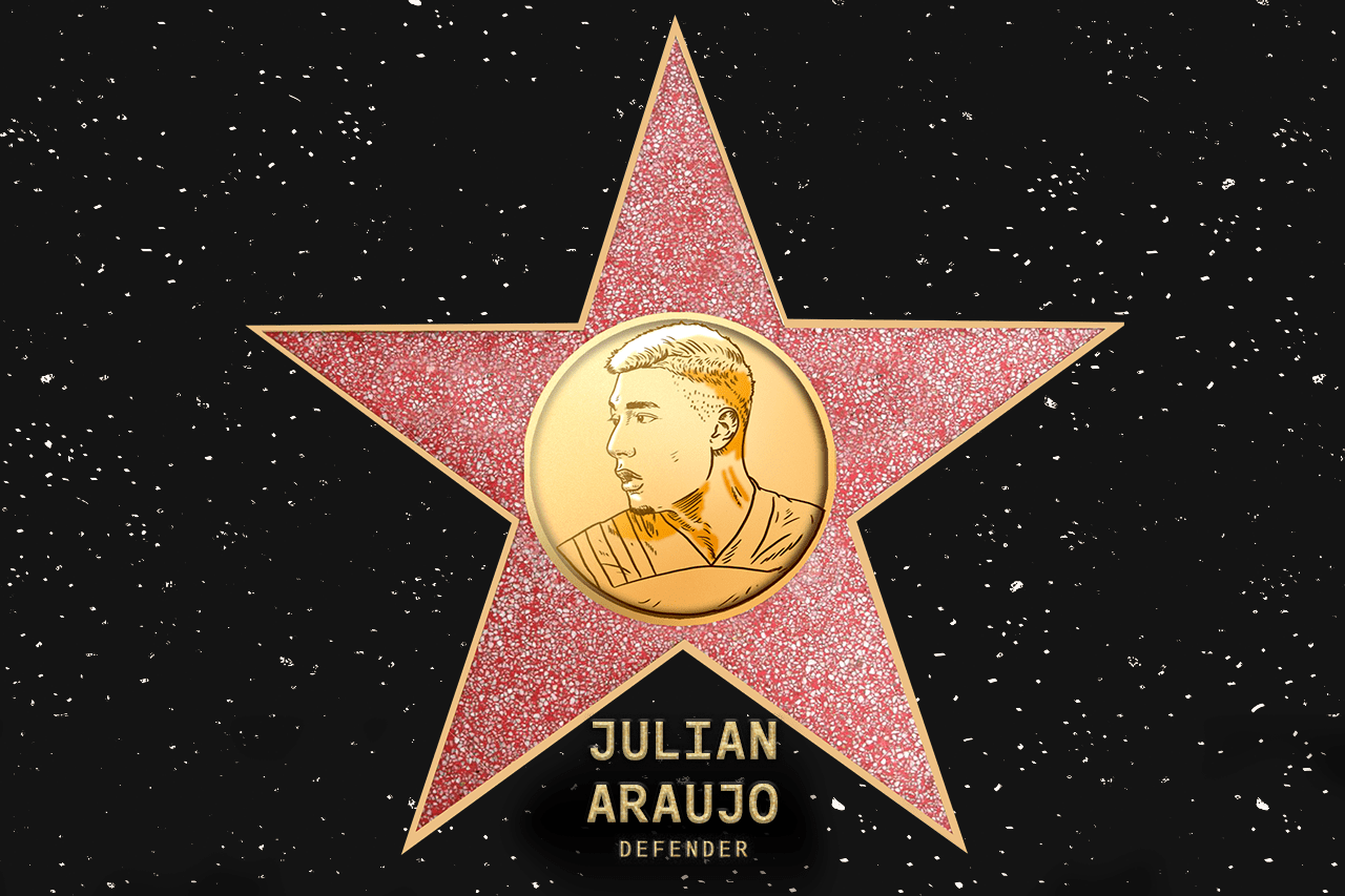 Julian Araujo (LA) - Coach's pick