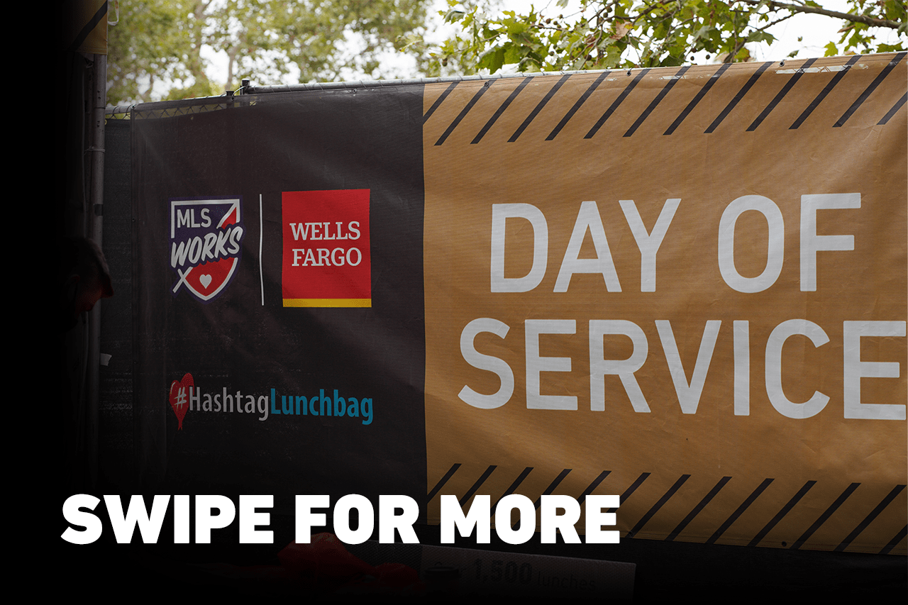 MLS WORKS Day of Service Presented by Wells Fargo