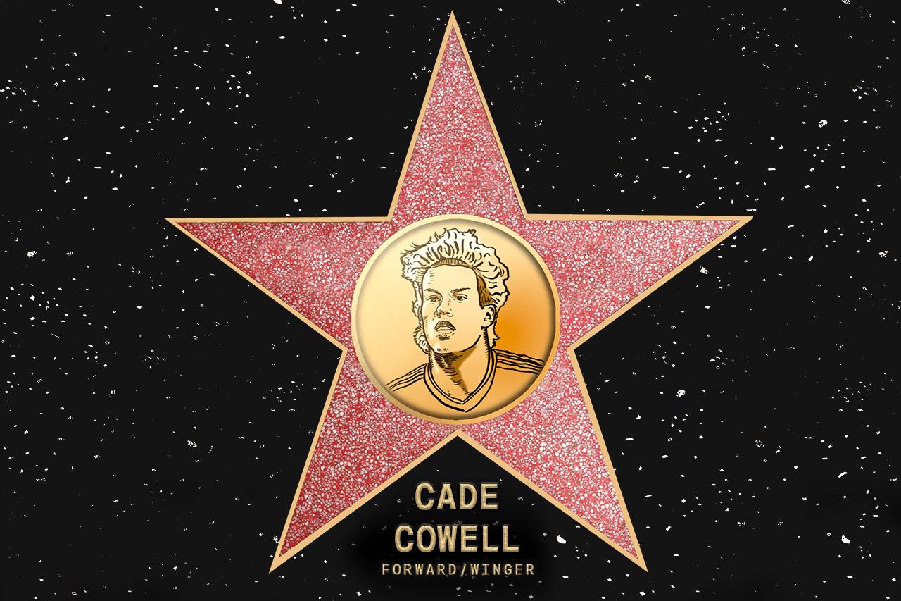 Cade Cowell (SJ) – Commissioner's pick