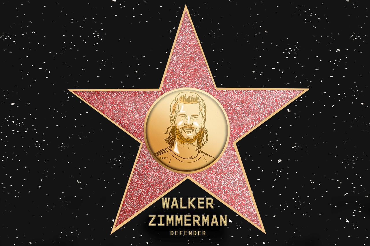 Walker Zimmerman (NSH) - Voted in