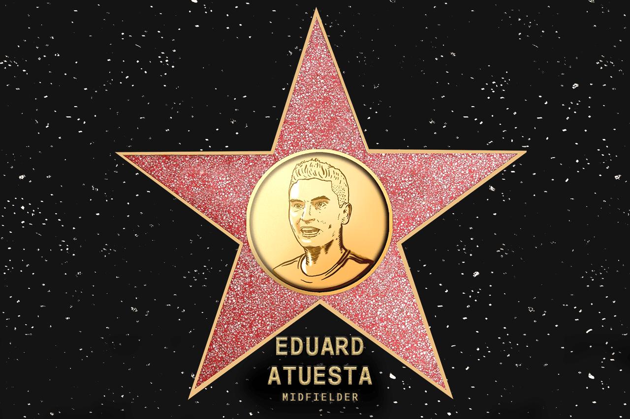 Eduard Atuesta (LAFC) - Coach's pick