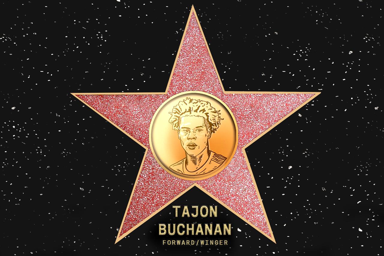 Tajon Buchanan (NE) - Commissioner's pick