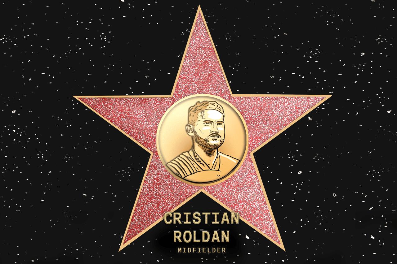 Cristian Roldan (SEA) - Voted in