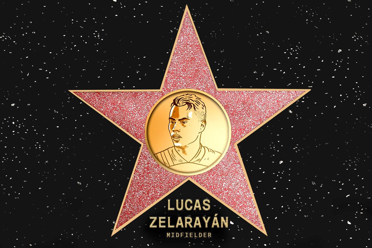 Lucas Zelarayán (CLB) - Voted in