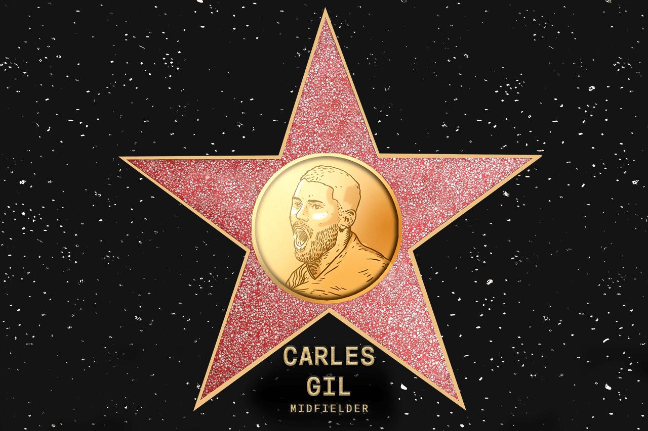 Carles Gil (NE) - Voted in