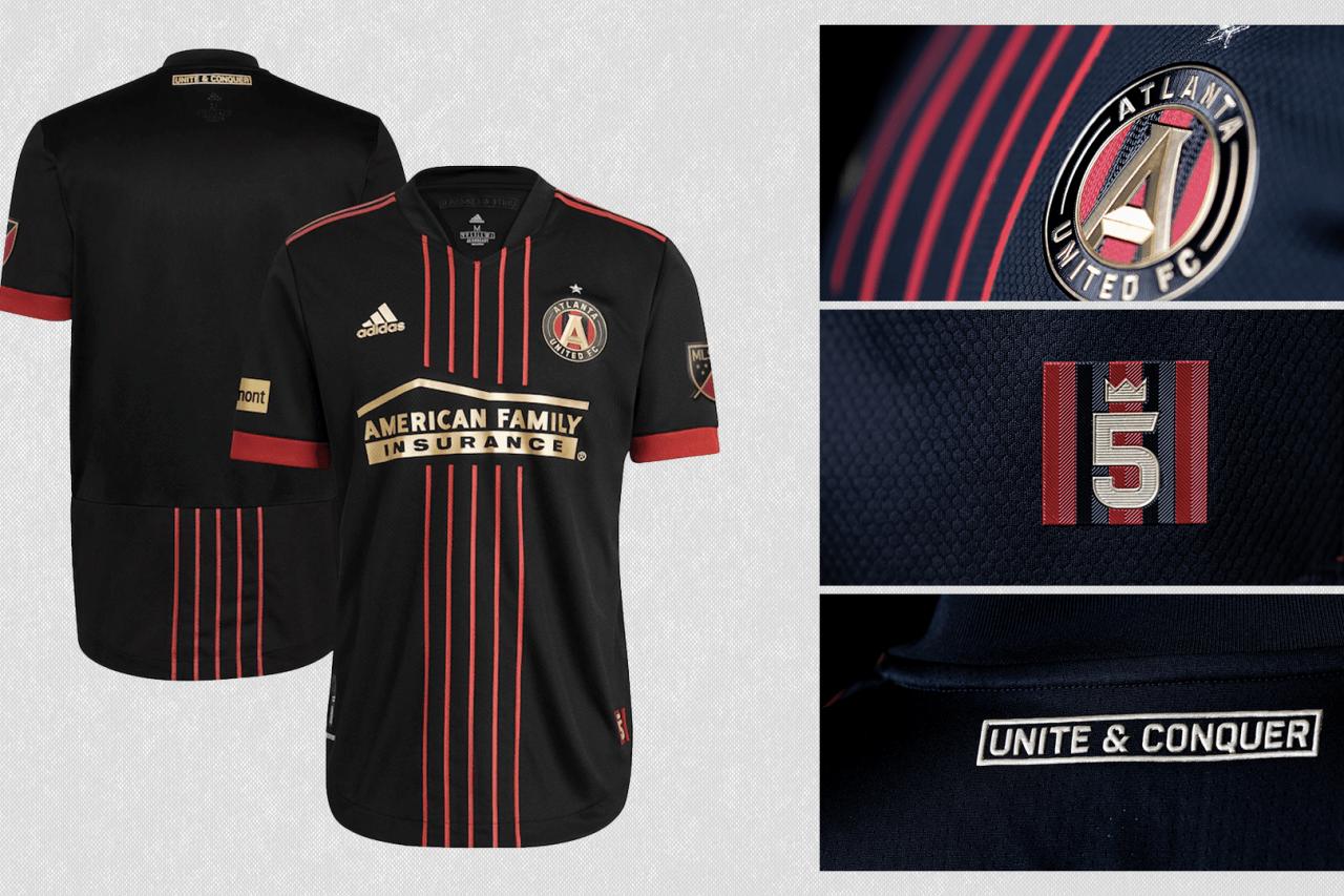 2021 Atlanta United primary jersey