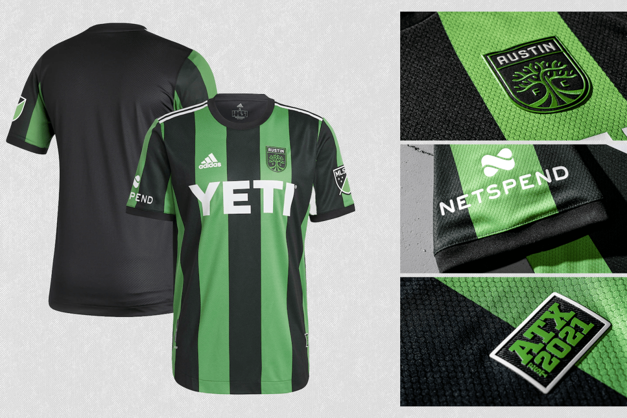 2021 Austin FC primary jersey