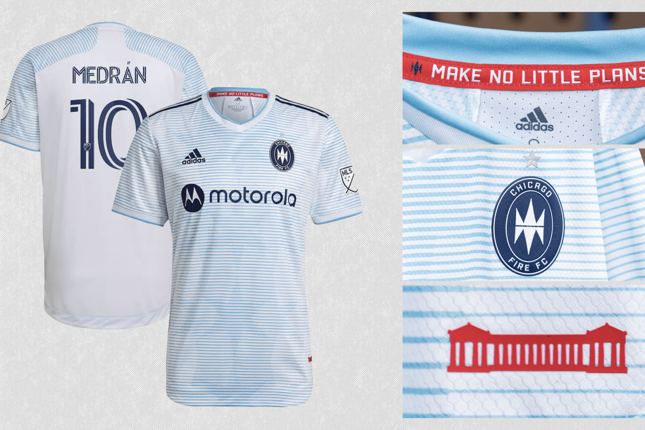 2021 Chicago Fire FC secondary jersey