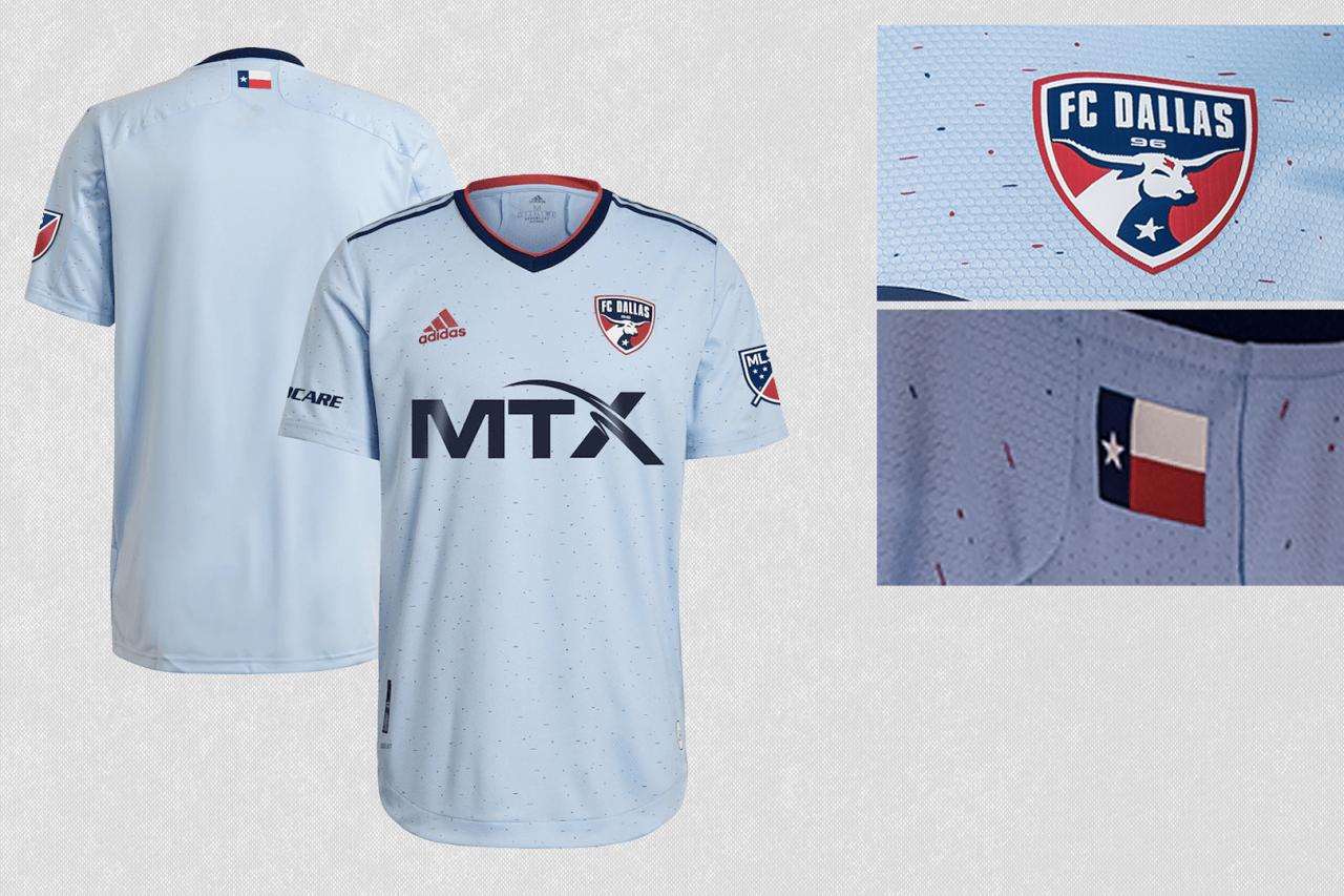 2021 FC Dallas secondary jersey
