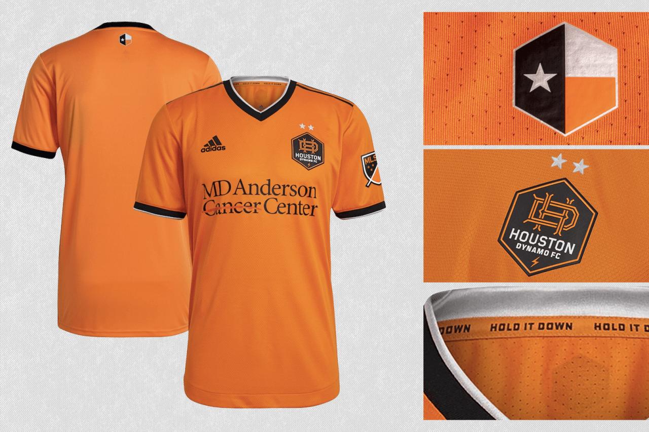 2021 Houston Dynamo FC primary jersey