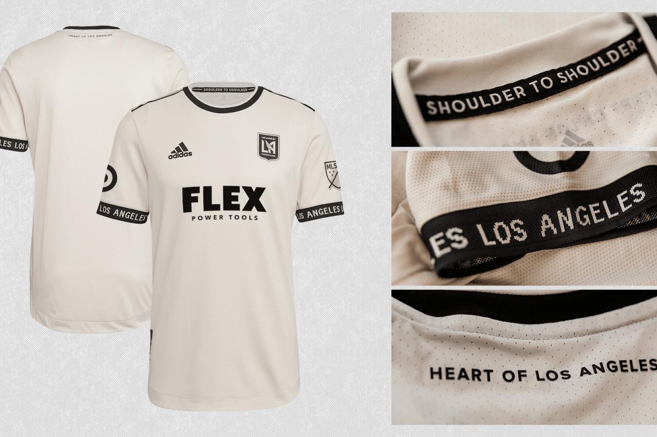 2021 Los Angeles Football Club secondary jersey