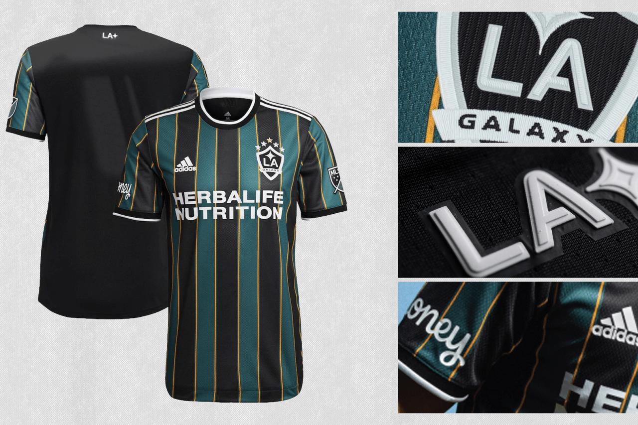 2021 LA Galaxy secondary jersey