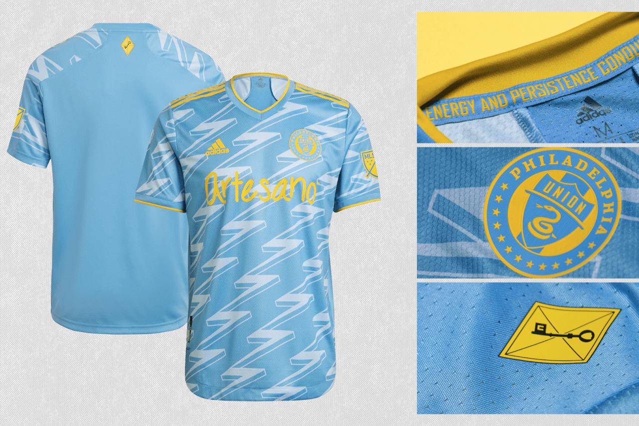 2021 Philadelphia Union secondary jersey