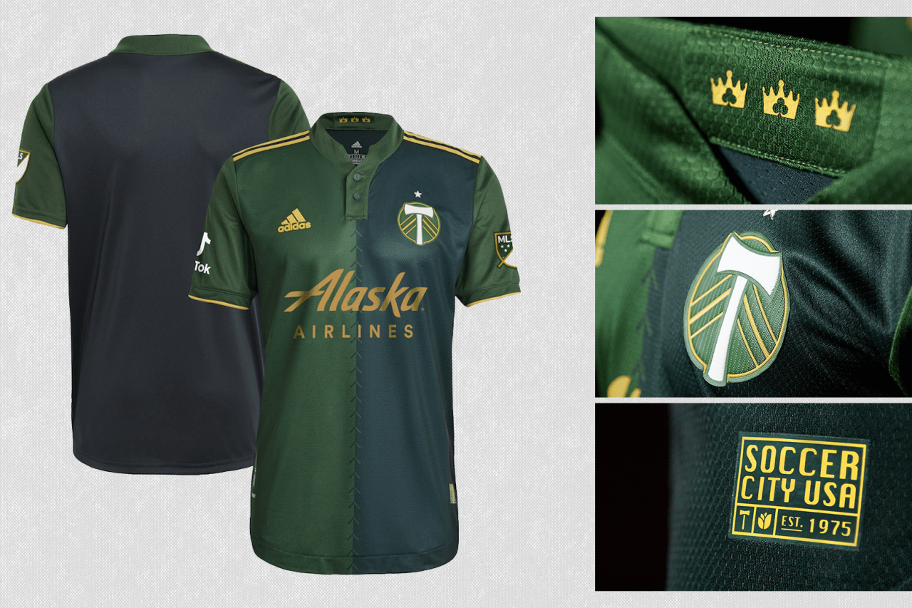 2021 Portland Timbers primary jersey