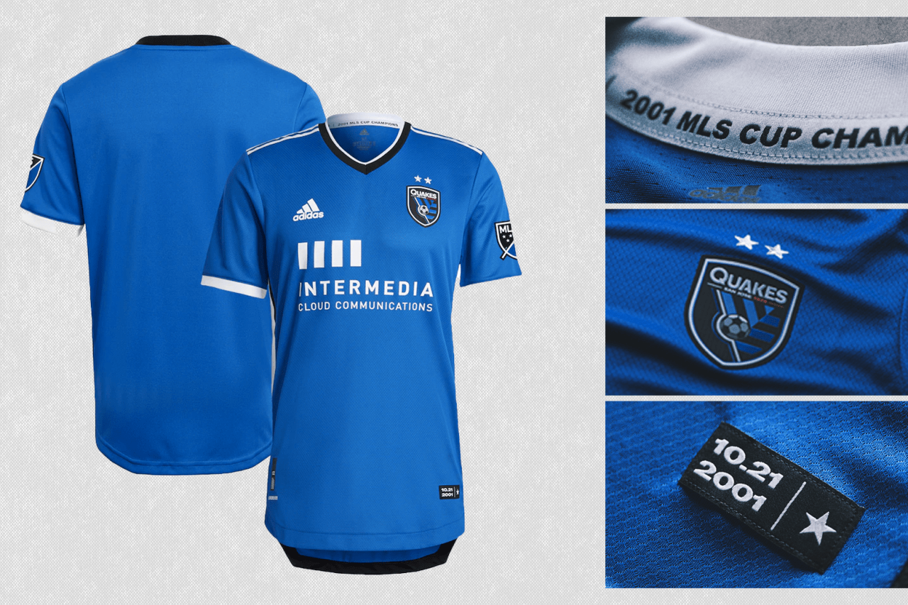2021 San Jose Earthquakes primary jersey