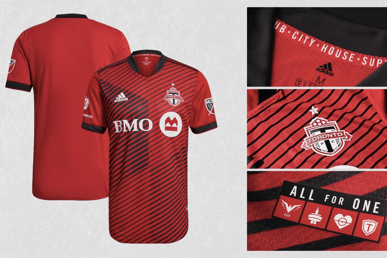 2021 Toronto FC primary jersey