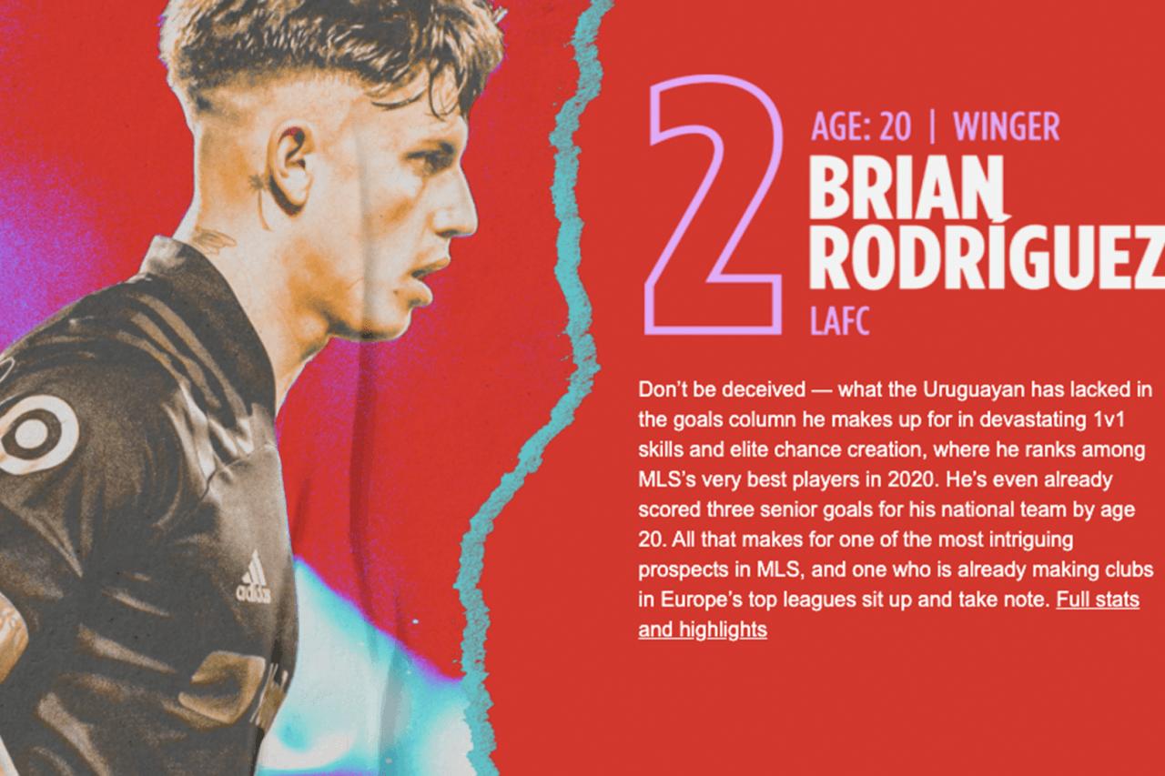 2. Brian Rodríguez (LAFC)