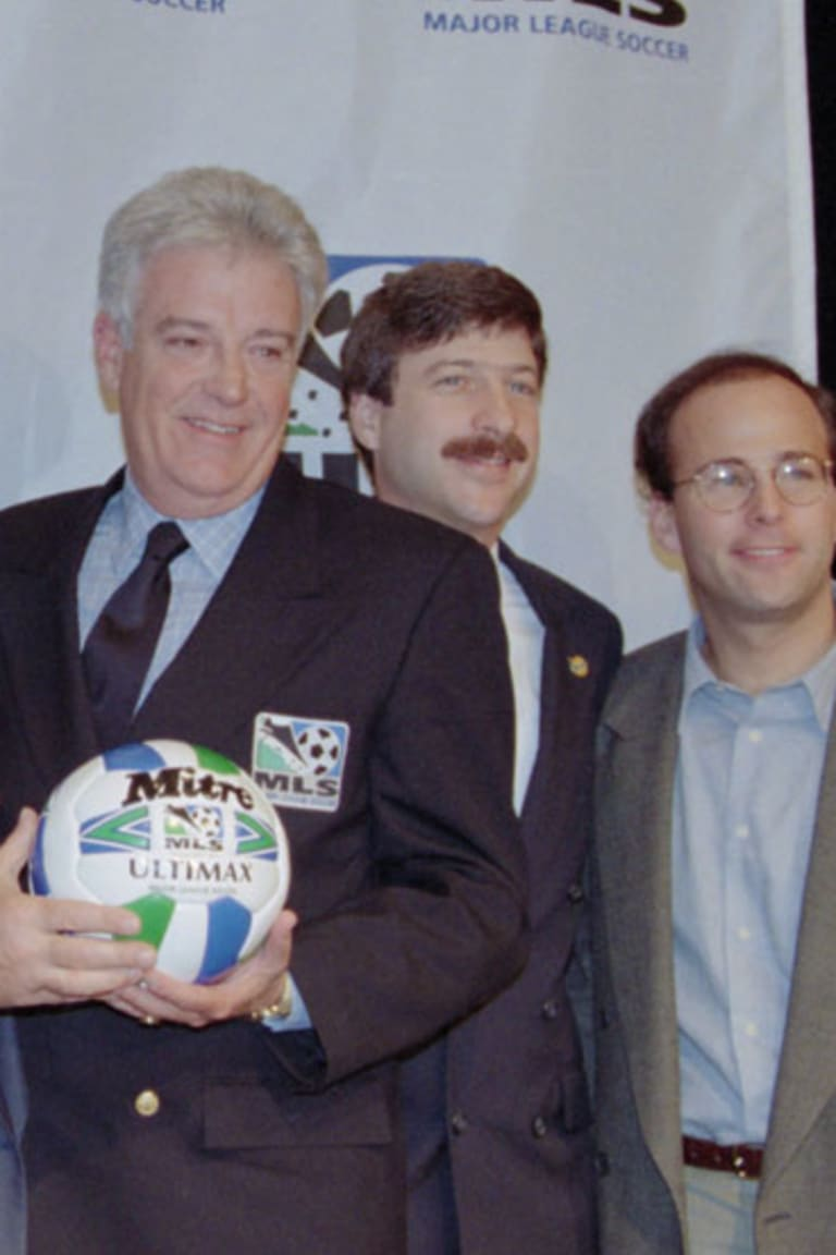 MLS 1996 first game photo