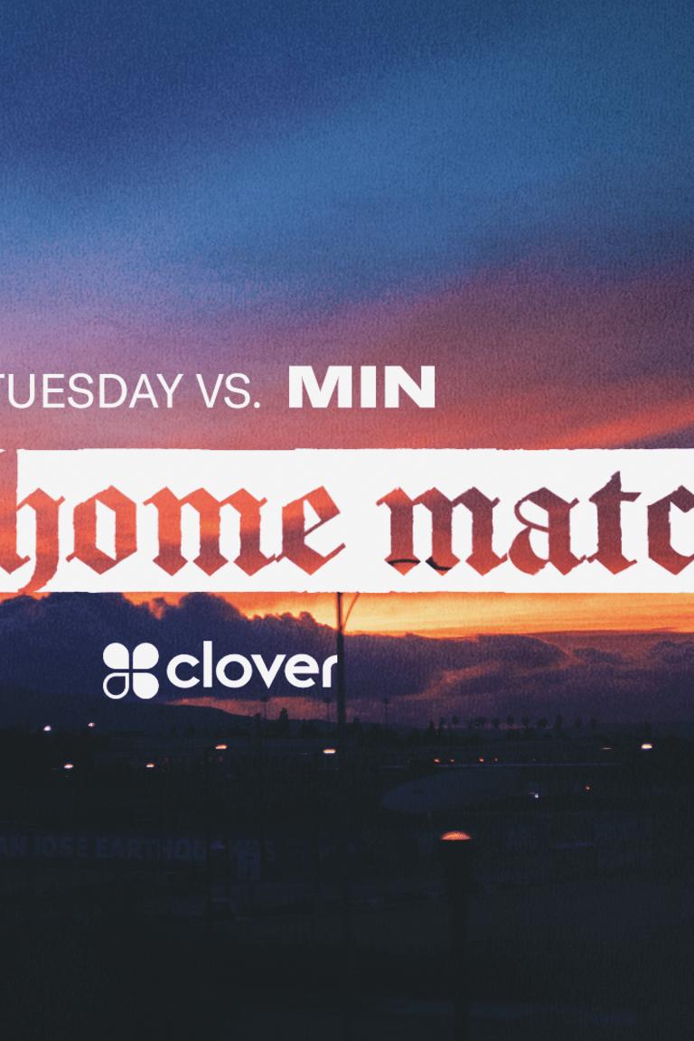 next match - clover
