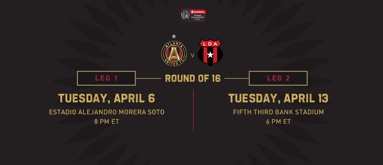 Round of 16 schedule announced for 2021 Scotiabank Concacaf Champions League   Atlanta United FC