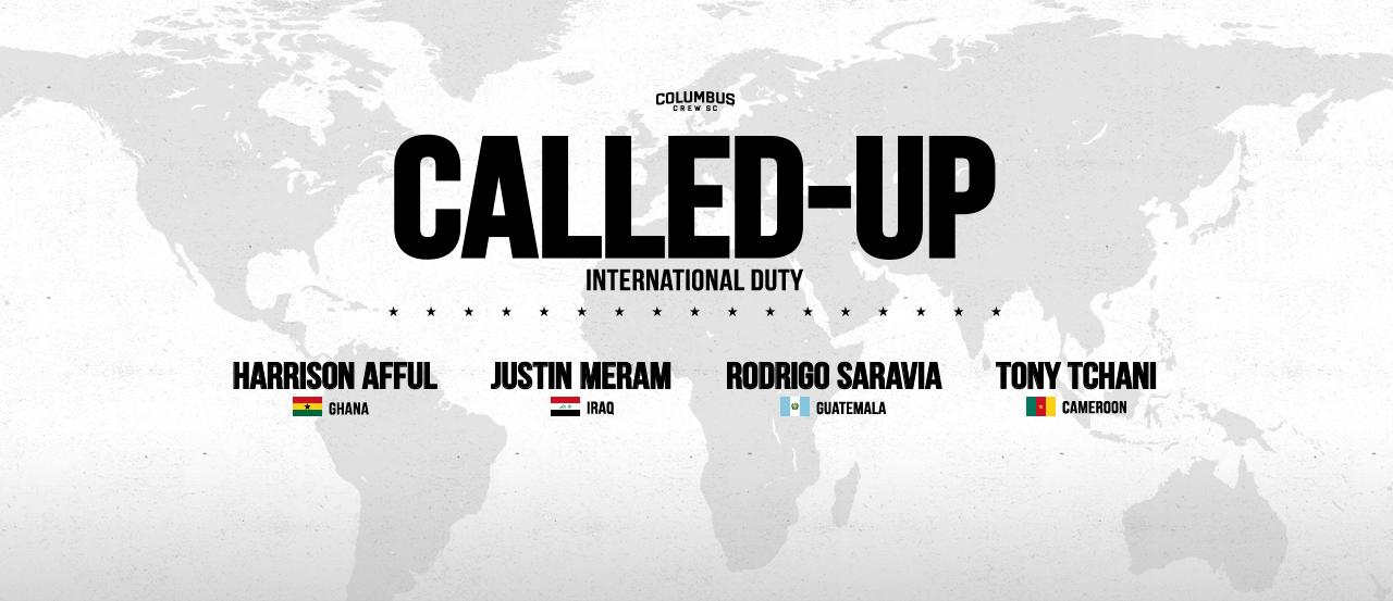 How to watch Crew SC's international callups | Columbus Crew