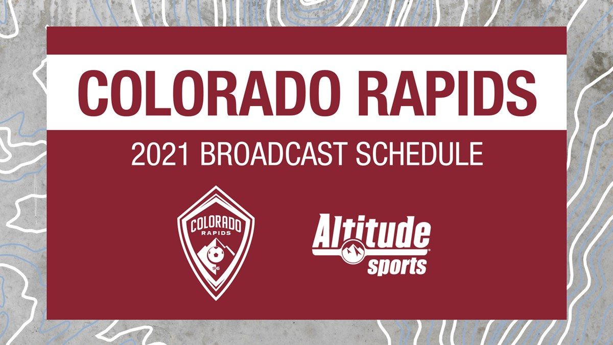 32 Games to Air on Altitude in 2021 | Colorado Rapids