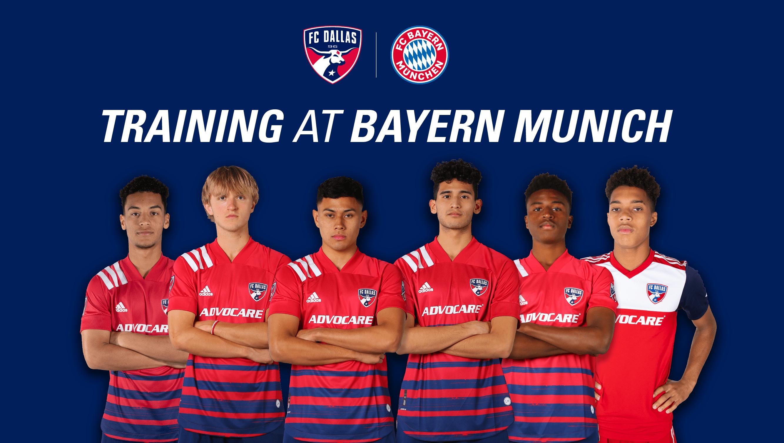 Six Fc Dallas Homegrowns To Train With Fc Bayern Munich Fc Dallas