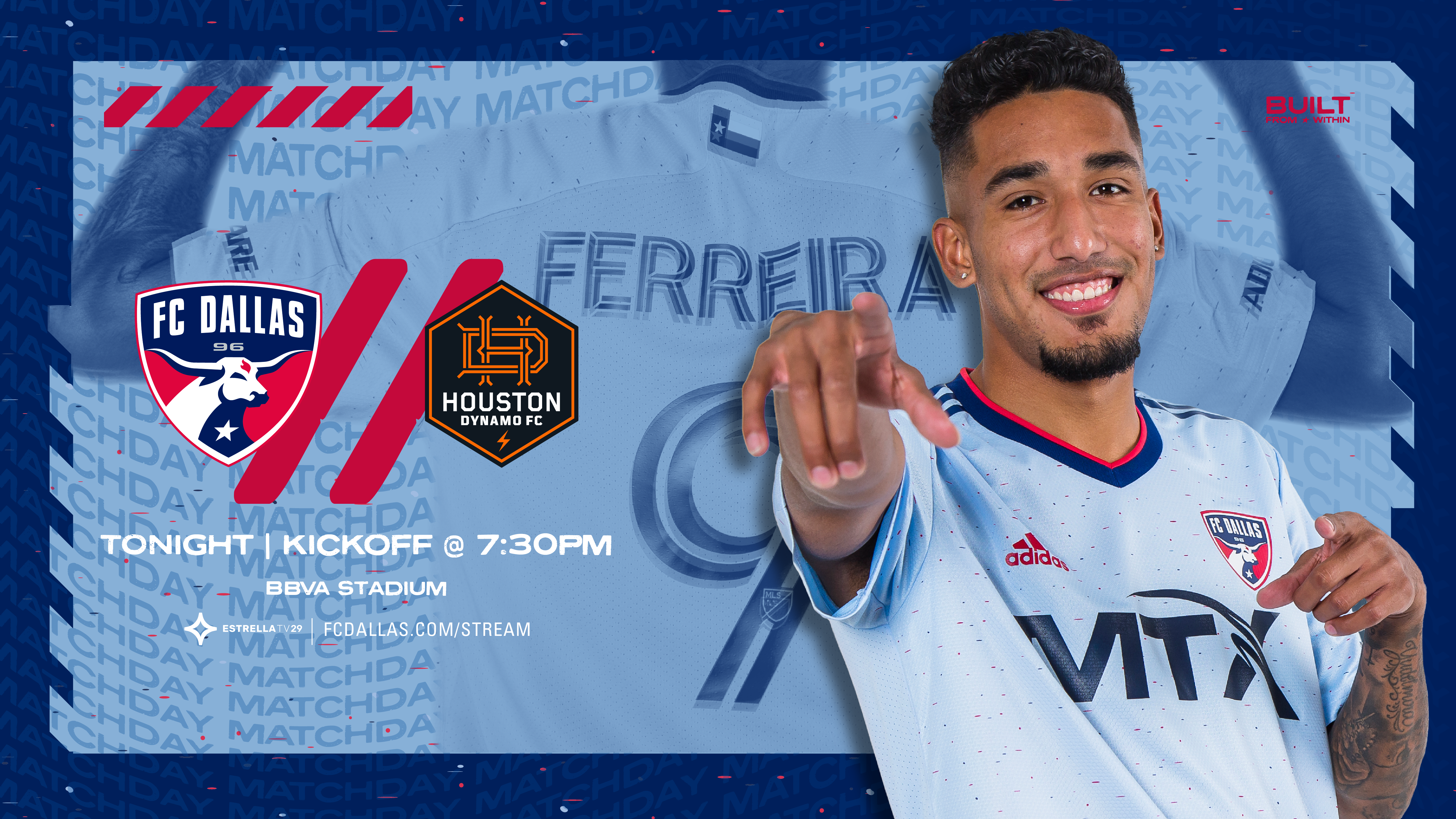 HOW TO WATCH: FC Dallas vs. Houston Dynamo FC   8.21.21    FC Dallas