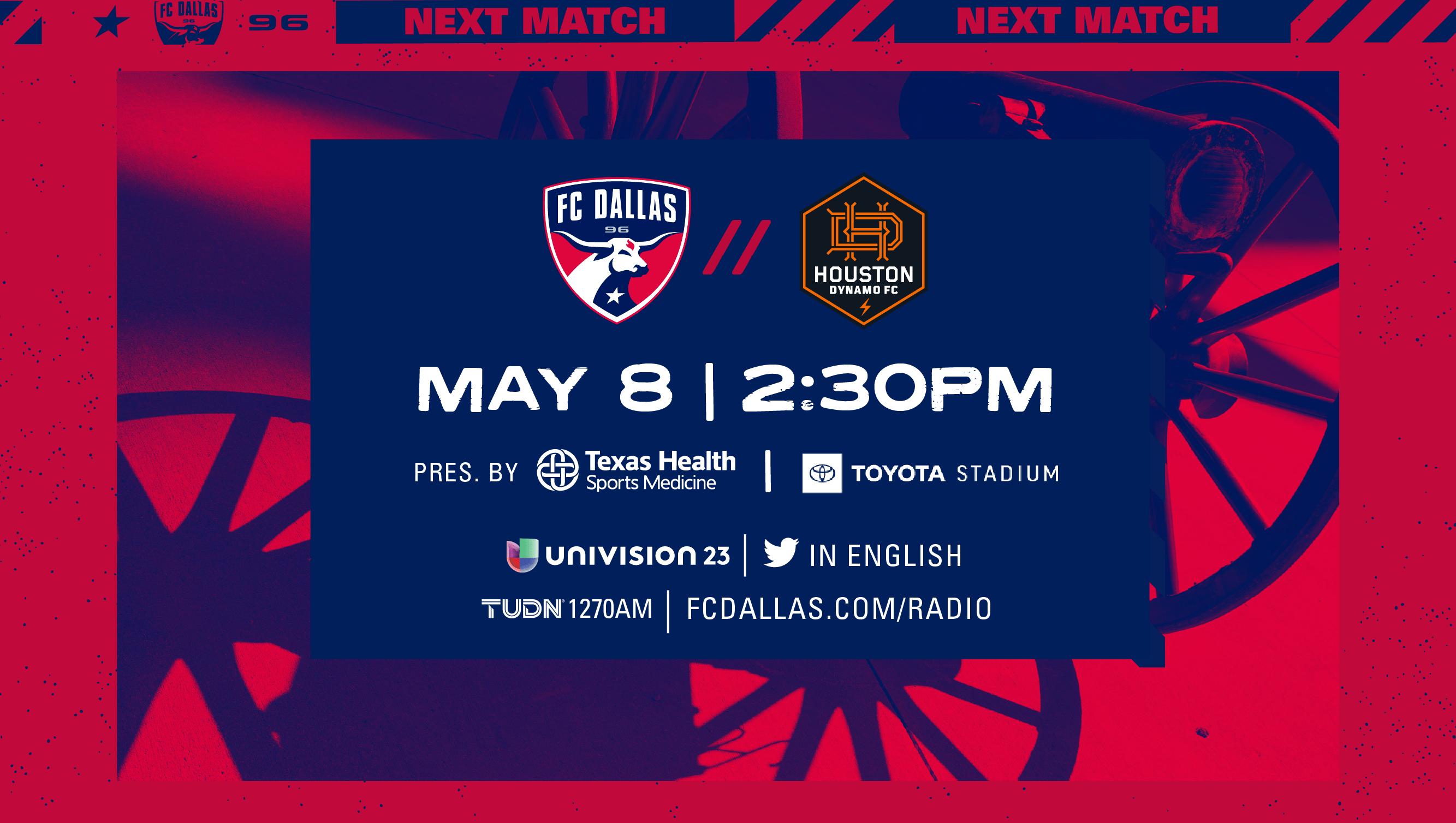 HOW TO WATCH: FC Dallas vs. Houston Dynamo | 5.8.21 |  FC Dallas