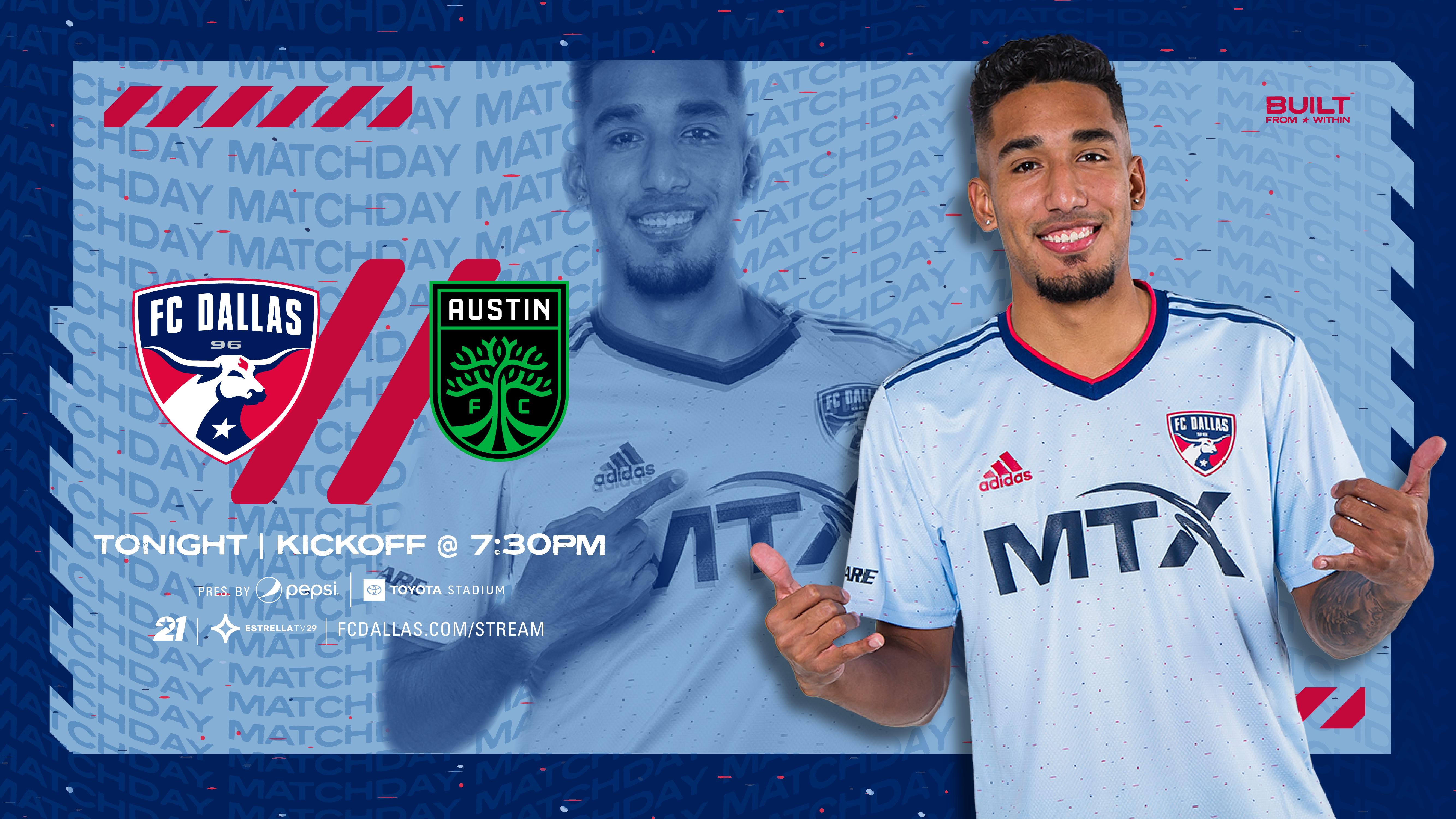 HOW TO WATCH: FC Dallas vs. Austin FC   8.7.21    FC Dallas