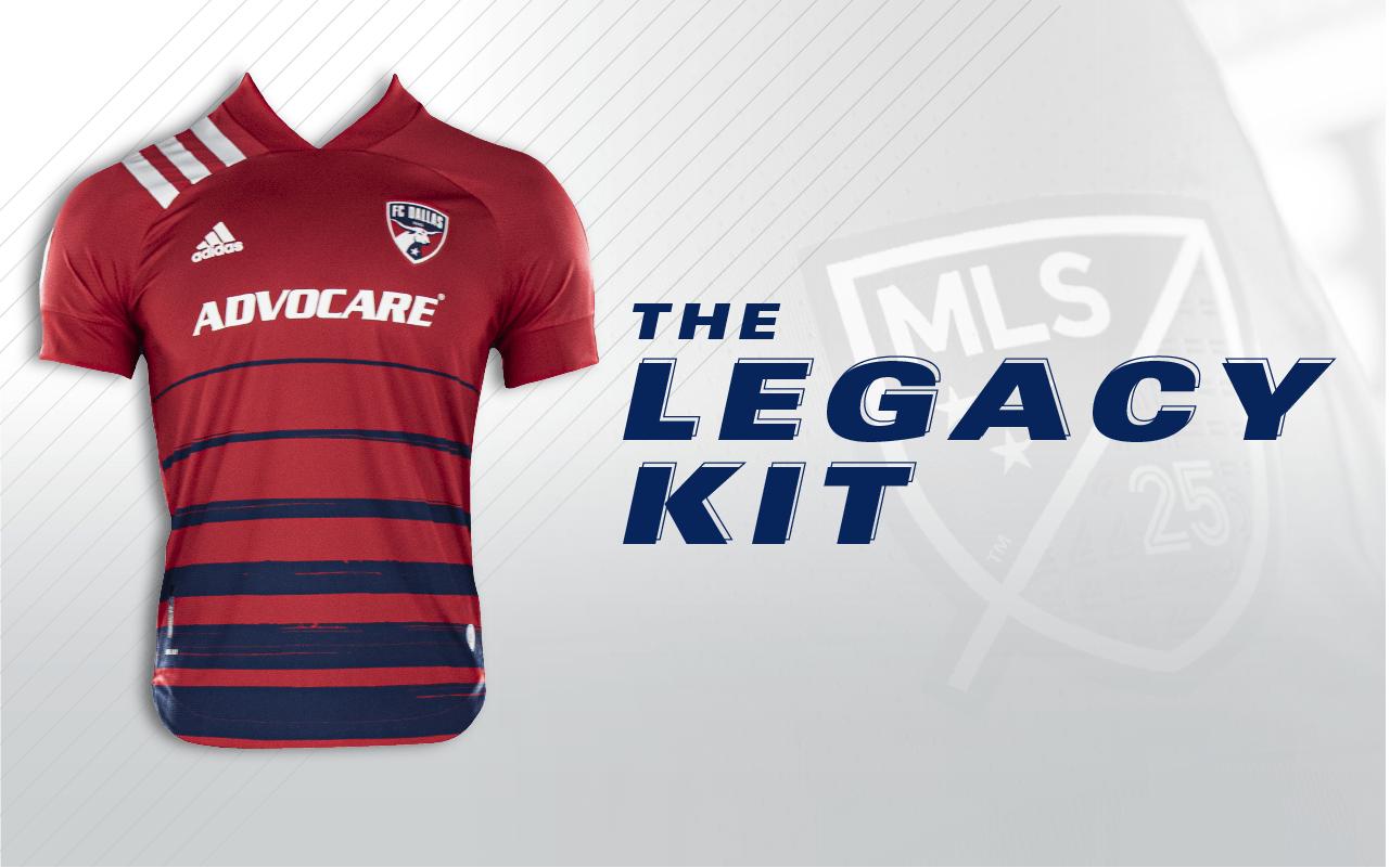 FC Dallas Unveils the Legacy Kit for 2020 Season | FC Dallas