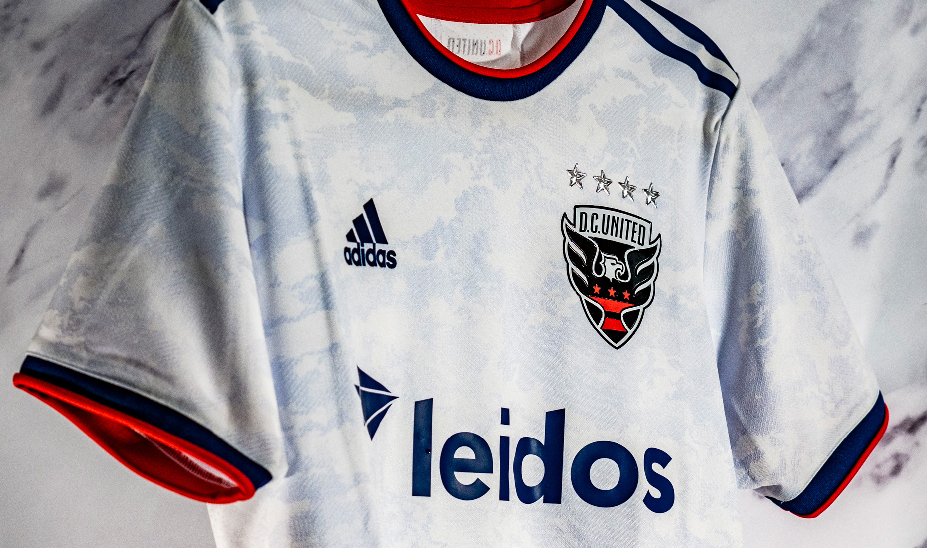 D.C. United Unveil the New Exclusive adidas Marble Jersey Ahead of ...