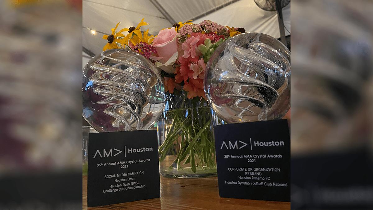 Houston Dynamo Football Club wins 2 AMA Crystal Awards | Houston Dynamo