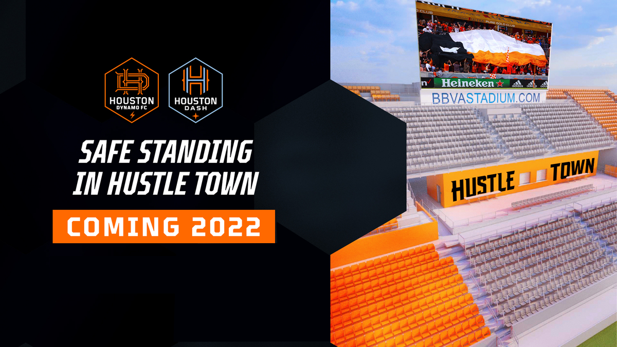 Houston Dynamo Football Club announce multi-phase renovations of BBVA Stadium | Houston Dynamo